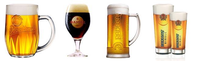 Piva čepovaná na Hotelu Duo