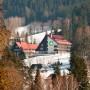 Hotel Duo, Beskydy, Horní Bečva - zimní pohled