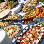 Jednohubky a občerstvení na svatbě, mmmňam :o)