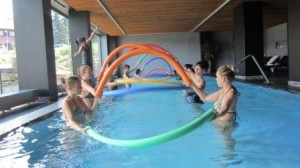 Aqualates - cvičení ve vodě, Hotel Duo