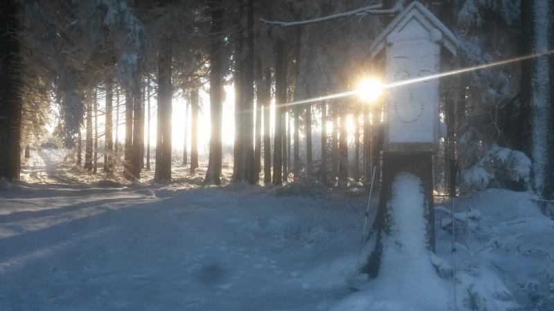 Cesta světla - vrchol
