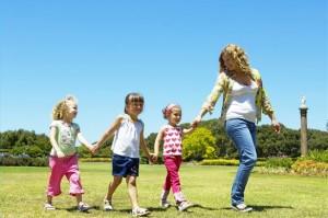 Hlídání dětí - léto