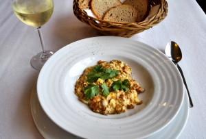 Hříbková vaječinka z lišek