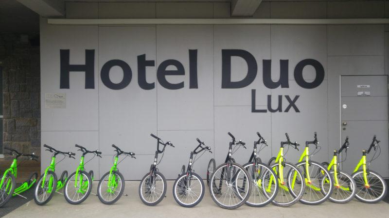 Koloběžky k zapůjčení - Hotel Duo