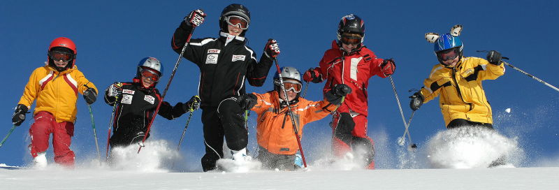 Radost na sněhu