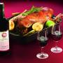 Svatomartinské hody - víno a husička