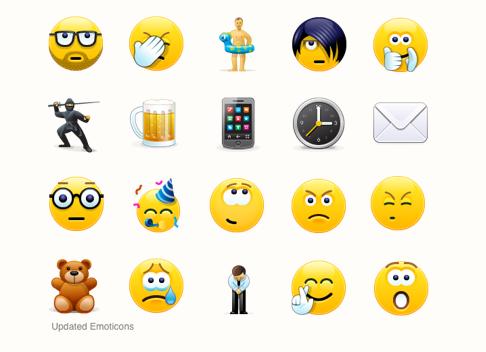 Smajlíci Skype (emotikony)