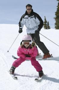 Učím se lyžovat