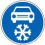 Zimní výbavu do auta s sebou!