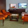 Apartmá tajemníka, stylový nábytek, posezení s TV-11