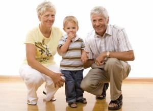 Babi, děda, vnuk