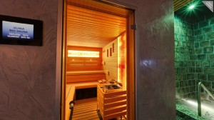 Sauna and wellness centre, Hotel Duo.