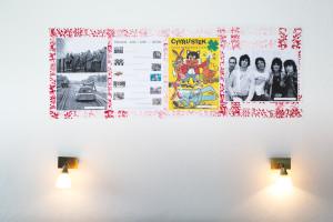 Retro výzdoba a osvětlení